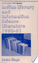 Indian Library and Information Science Literature  1990 1991