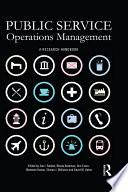 Public Service Operations Management