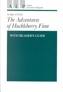 Adventures Of Huckleberry Finn With Reader S Guide