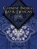 Chinese Indigo Batik Designs