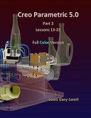 Creo Parametric 5  0 Part 3  Lessons 13 22