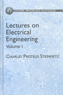 Cover of Lectures on Electrical Engineering