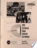 1993 Technical Paper Contest for Women  Gear Up 2000  Women in Motion Book