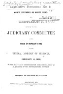 Majority  Supplemental and Minority Reports and Testimony