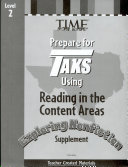 TAKS Reading in the Content Areas: Exploring Nonfiction Supplement Consumable Grade 2 ebook