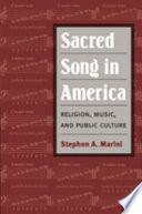 Sacred Song In America
