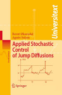 Pdf Applied Stochastic Control of Jump Diffusions