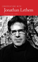 Pdf Conversations with Jonathan Lethem