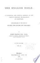 The English Bible
