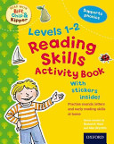 Oxford Reading Tree Read With Biff  Chip  and Kipper  Levels 1 2  Reading Skills Activity Book