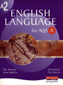 A2 English Language for AQA B