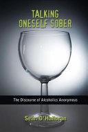 Talking Oneself Sober Book PDF