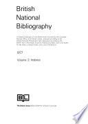 The British National Bibliography  , Bände 1-2
