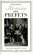 Histoire des préfets