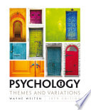 Psychology  Themes and Variations Book PDF