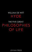 Pdf The Five Great Philosophies of Life Telecharger