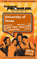 University of Texas 2012