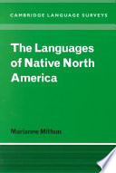 The Languages Of Native North America