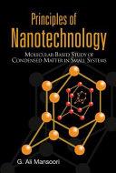 Principles of Nanotechnology