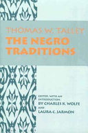 The Negro Traditions