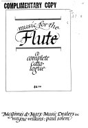 Music for the Flute