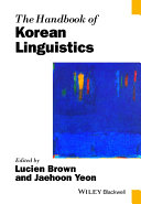 Pdf The Handbook of Korean Linguistics Telecharger