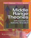 Middle Range Theories  : Application to Nursing Research