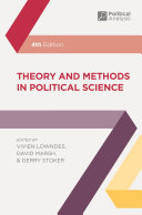 Cover of Theory and Methods in Political Science