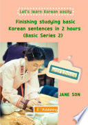 Finishing Studying Basic Korean Sentences In 2 Hours Basic Series 2 Workbook