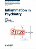 Inflammation in Psychiatry