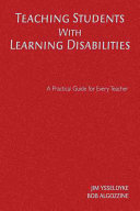 Teaching Students With Learning Disabilities Book