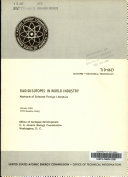 Radioisotopes In World Industry Book PDF