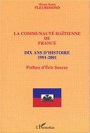 Pdf Communauté haïtienne de France Telecharger
