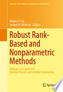 Robust Rank Based and Nonparametric Methods