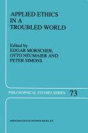 Applied Ethics in a Troubled World Pdf/ePub eBook