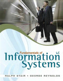 Cover of Fundamentals of Information Systems