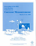 Proceedings of the IEEE Sixth Working Conference on Current Measurement Book