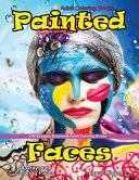Adult Coloring Books Painted Faces