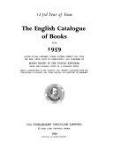 The English Catalogue Of Books Annual  Book PDF