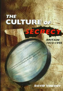 The Culture of Secrecy