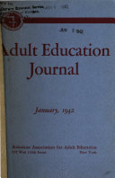 Adult Education Journal
