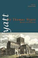 Sir Thomas Wyatt Books, Sir Thomas Wyatt poetry book