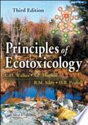 Principles of Ecotoxicology  Third Edition