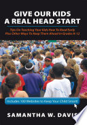 Give Our Kids A Real Head Start Book PDF