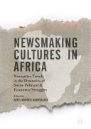Pdf Newsmaking Cultures in Africa Telecharger