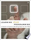 Learning IPad Programming