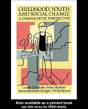 Childhood  Youth And Social Change