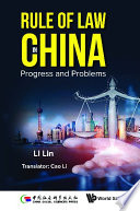 Rule Of Law In China  Progress And Problems Book