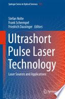 Ultrashort Pulse Laser Technology Book PDF