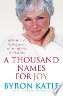 A Thousand Names For Joy Book PDF